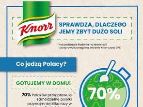 Knorr zbadał, dlaczego Polacy nadużywają soli