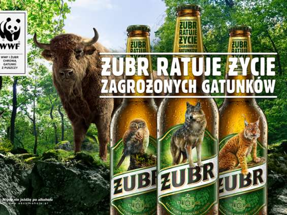 Wizerunek żubra znika z etykiet piwa