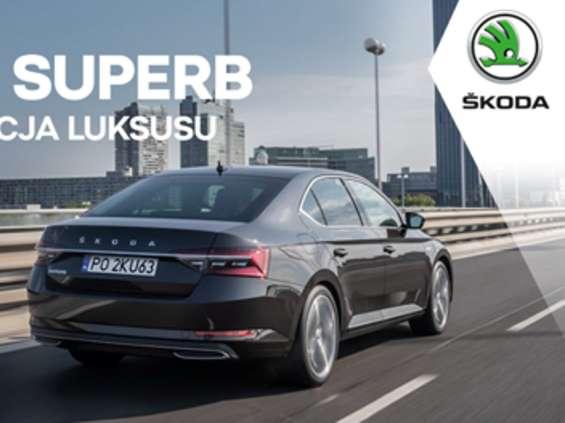 """Skoda reklamuje Superb jako """"nową definicję luksusu"""" [wideo]"""