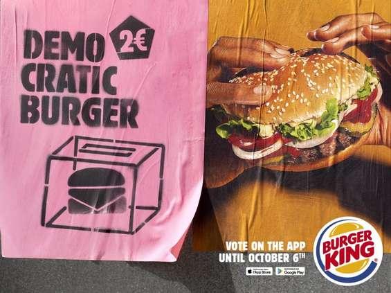 """Burger King wprowadza we Francji """"demokratycznego burgera"""" [wideo]"""
