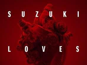 Suzuki komunikuje, że kocha sztukę