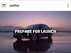 Premiera nowego Cadillaca po raz pierwszy najpierw na Instagramie
