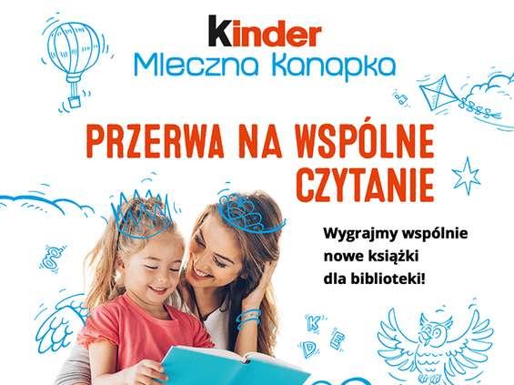 Marka Kinder promuje czytelnictwo