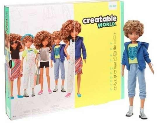 Mattell wprowadził na rynek Barbie neutralną płciowo