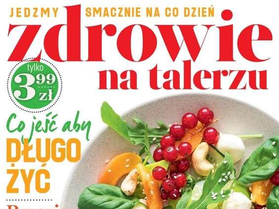 """""""Zdrowie na talerzu"""" - nowy magazyn w Burda Media"""