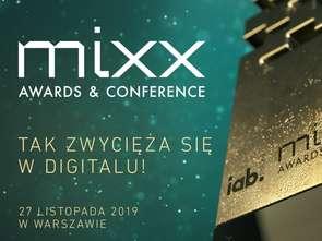 Ponad 180 projektów konkuruje w 13. edycji edycji IAB MIXX Awards