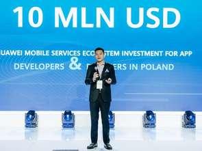 Huawei: wydamy w Polsce 10 mln dol. na sklep z aplikacjami