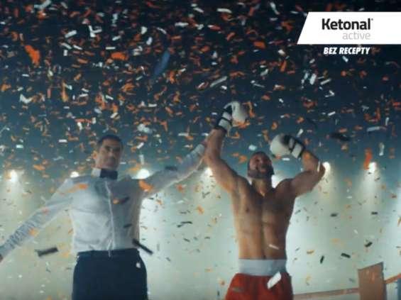 Nowa kampania Ketonal Active [wideo]