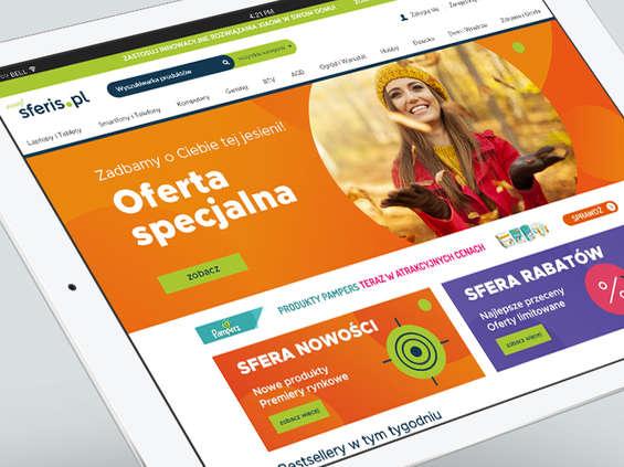 Sferis.pl z nową identyfikacją wizualną