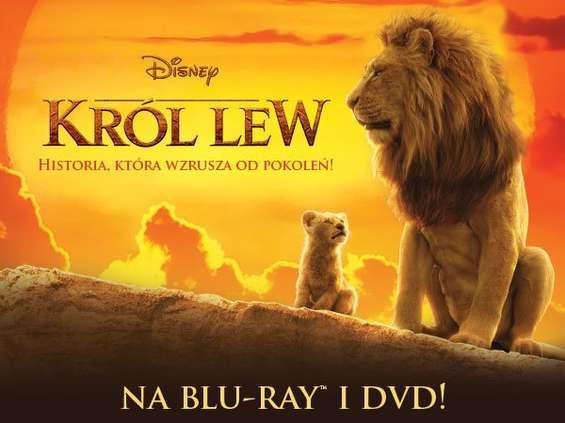 """""""Król Lew"""" już na Blu-Ray i DVD [wideo]"""