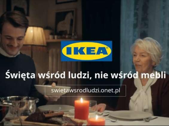 IKEA zwraca uwagę na dolegliwość samotności w święta [wideo]
