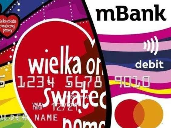 MBank z kolekcjonerską kartą i innymi działaniami na rzecz WOŚP