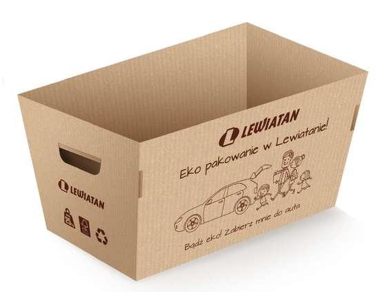 Eko pakowanie w Lewiatanie