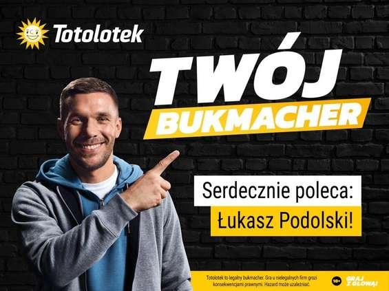 Łukasz Podolski ambasadorem marki Totolotek