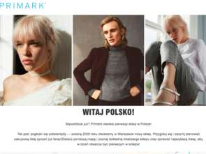 Primark ma już polską stronę