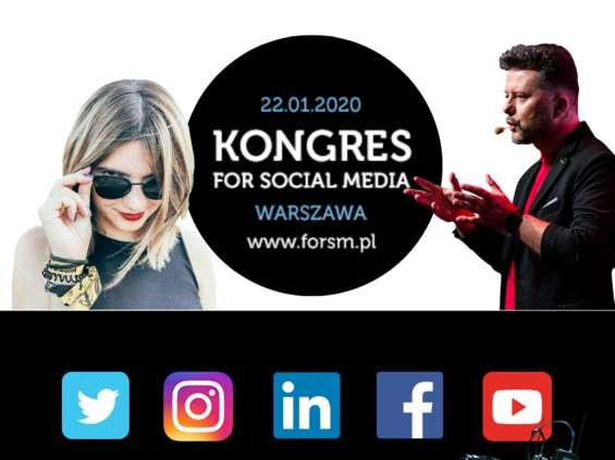 Kongres for Social Media 22 stycznia w Warszawie