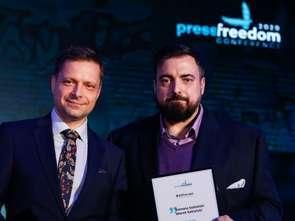 Tomasz i Marek Sekielscy uhonorowani nagrodą #AllForJan