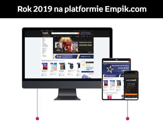 Empik.com z 300-procentowym wzrostem użytkowników aplikacji mobilnej