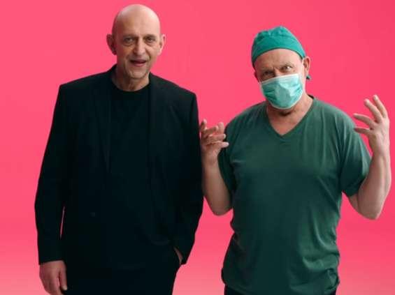 Janusz Chabior i Jan Frycz w kampanii OLX [wideo]