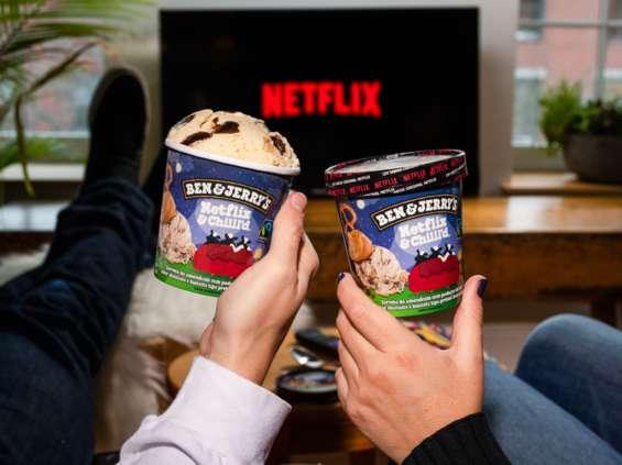 Netflix & Chill'd - nowy smak lodów Ben & Jerry's
