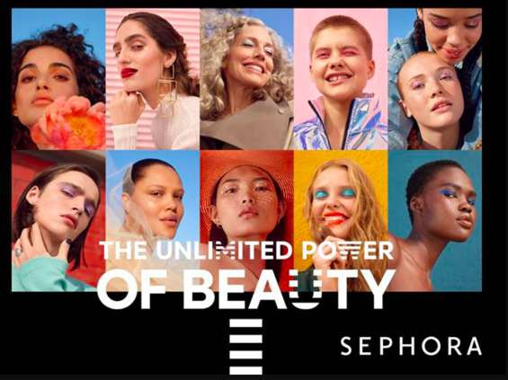 The Unlimited Power of Beauty - nowy wizerunek Sephory [wideo]