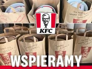 Dostawa w KFC bez kontaktu z dostawcą