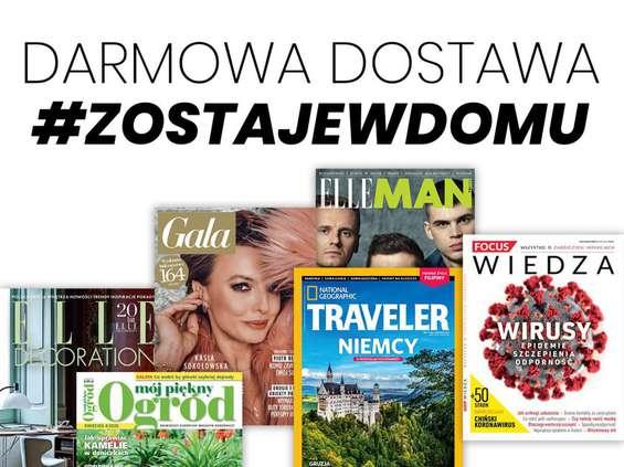 Burda Media wysyła magazyny za darmo