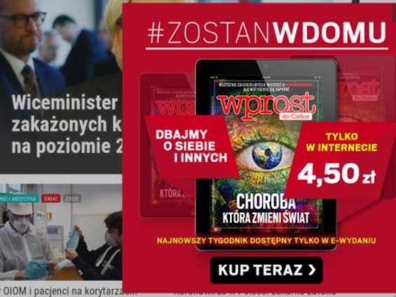 """Marcin Dzierżanowski żegna się z """"Wprost"""""""