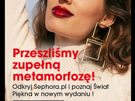 Sephora z nową odsłoną e-commerce