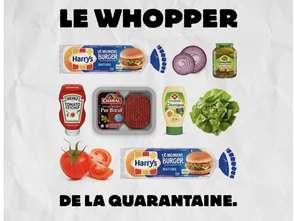 Burger King we Francji poleca przepis na domowego Whoppera