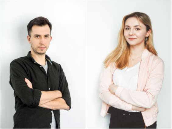 Kamil Kuć i Natalia Grabowska w 180heartbeats + Jung v Matt