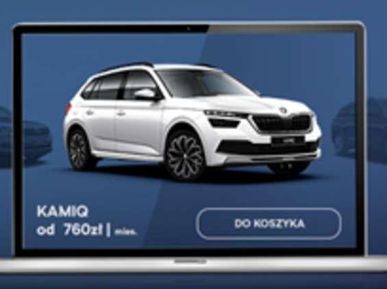 Skoda zaprasza do kupowania samochodów online