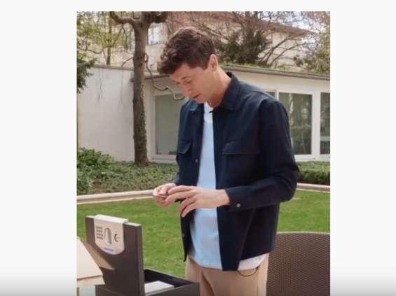 Lewandowski przygotował dla Huawei reklamę w domu [wideo]