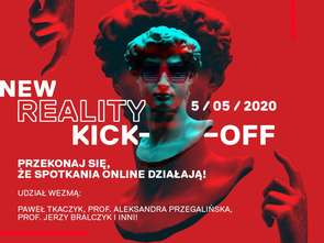Jerzy Bralczyk i Tomasz Kammel gośćmi New Reality Kick-Off