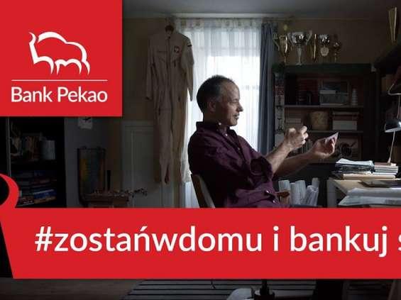 Sebastian Kawa w zrealizowanej zdalnie reklamie Pekao [wideo]