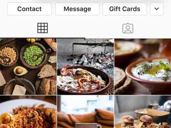 Karty podarunkowe dla firm dostępne na Instagramie