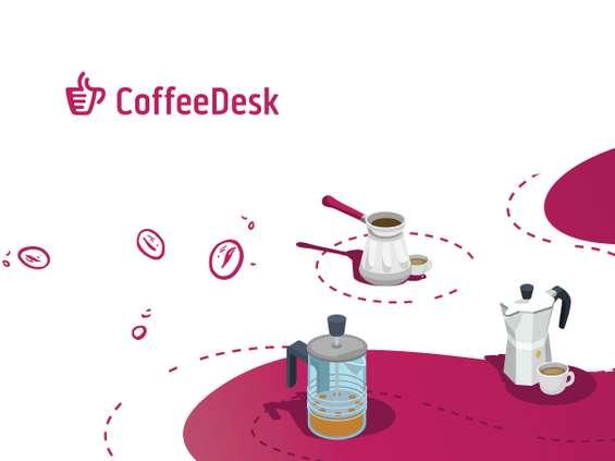 Coffeedesk zbiera fundusze na rozwój na Crowdway.pl
