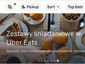 Szybko rośnie liczba restauracji współpracujących z Uber Eats