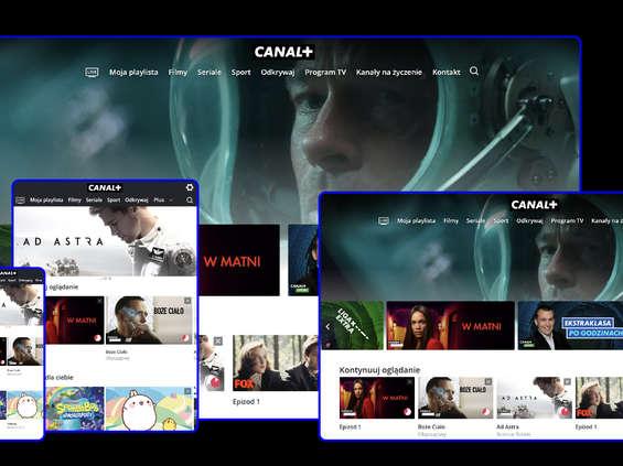 Canal+ przez internet, bez umowy, bez dekodera