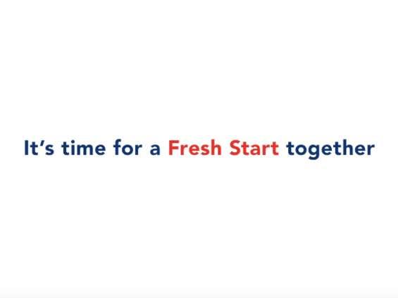 """Sieć supermarketów FairPrice namawia w kampanii, by """"zacząćod nowa"""" [wideo]"""