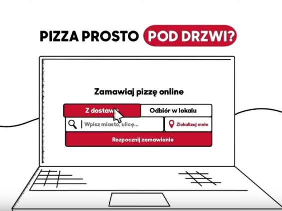 Pizza Hut i Visa ułatwiają zamawianie online [wideo]