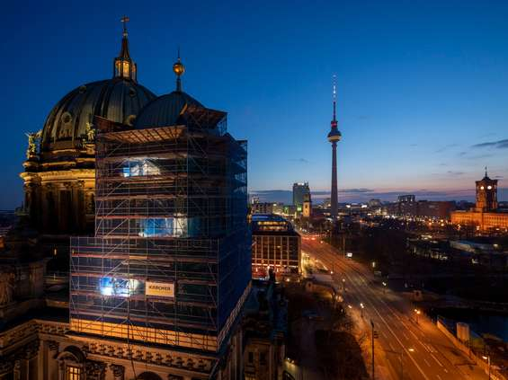 Kärcher wsparł renowację berlińskiej katedry