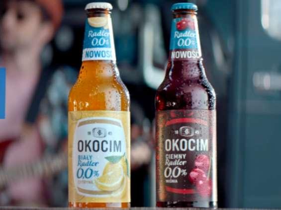 Carlsberg Polska rusza z kampanią nowych bezalkoholowych piw Okocim Radler [wideo]