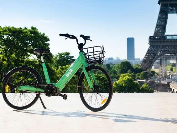 Bolt uruchamia wypożyczalnię elektrycznych rowerów w Paryżu