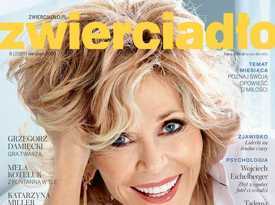 """Jane Fonda na okładce sierpniowego """"Zwierciadła"""""""