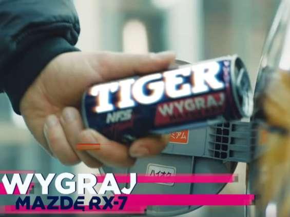 Loteria Tiger Energy Drink najpopularniejszym spotem na YouTube w czerwcu [wideo]