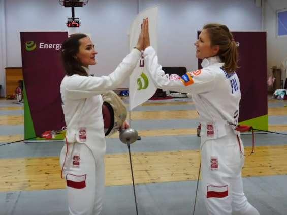 Polskie szpadzistki ambasadorkami Grupy Energa [wideo]