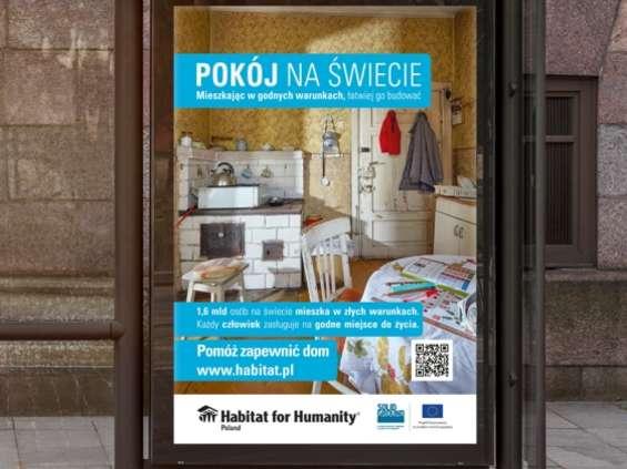 Poruszająca kampania społeczna Habitat for Humanity Poland