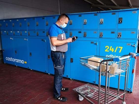 Castorama z własnym automatem do odbioru zamówień