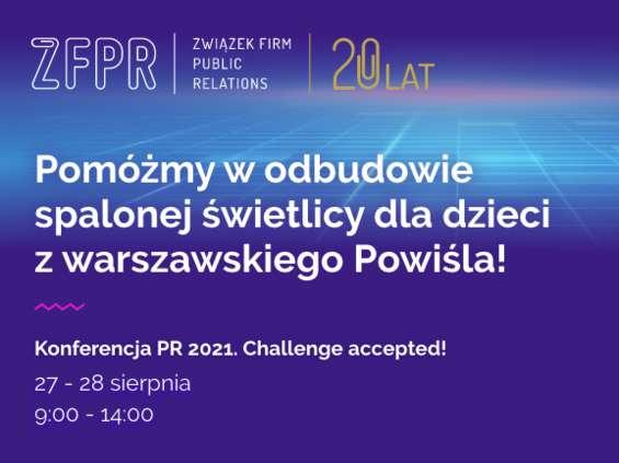 Uczestnicy konferencji ZFPR wesprą cel charytatywny